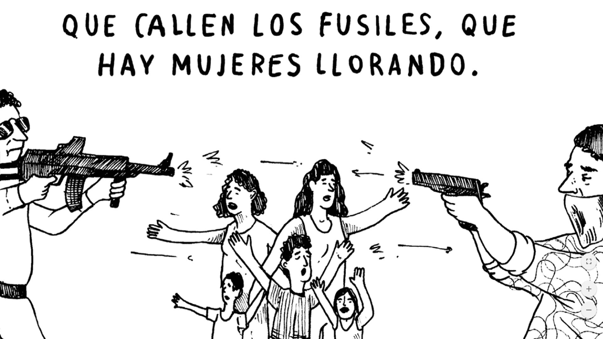 Tres cómics sobre tres verdades del conflicto armado en Colombia