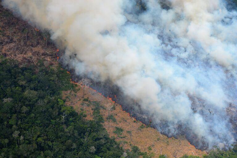 La destrucción de bosque dentro del Resguardo Indígena Nukak
