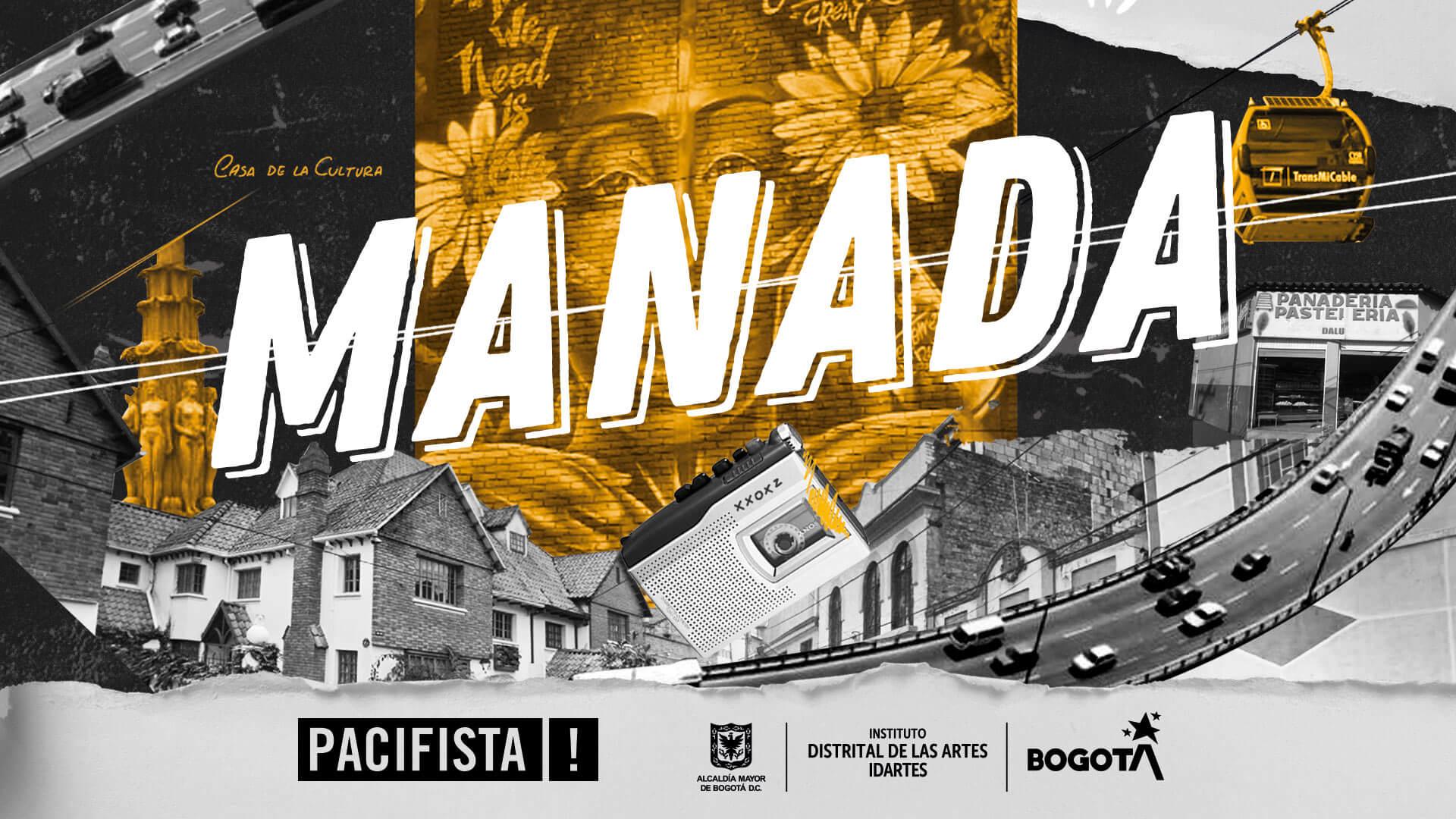 ¡Llega MANADA! La nueva plataforma de periodismo cultural de Idartes y PACIFISTA