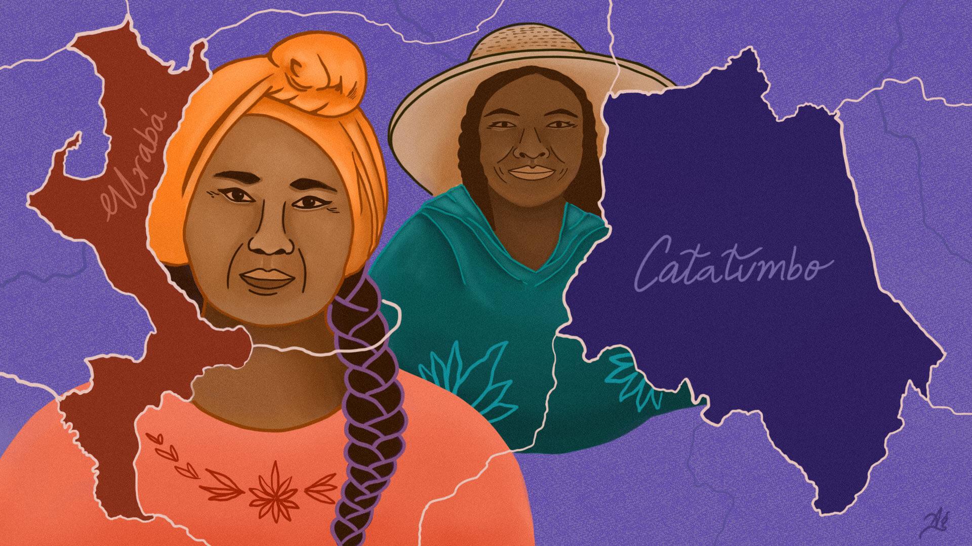 Lideresas en Urabá y Catatumbo se plantan para acabar con una violencia que no se destruye, solo se transforma