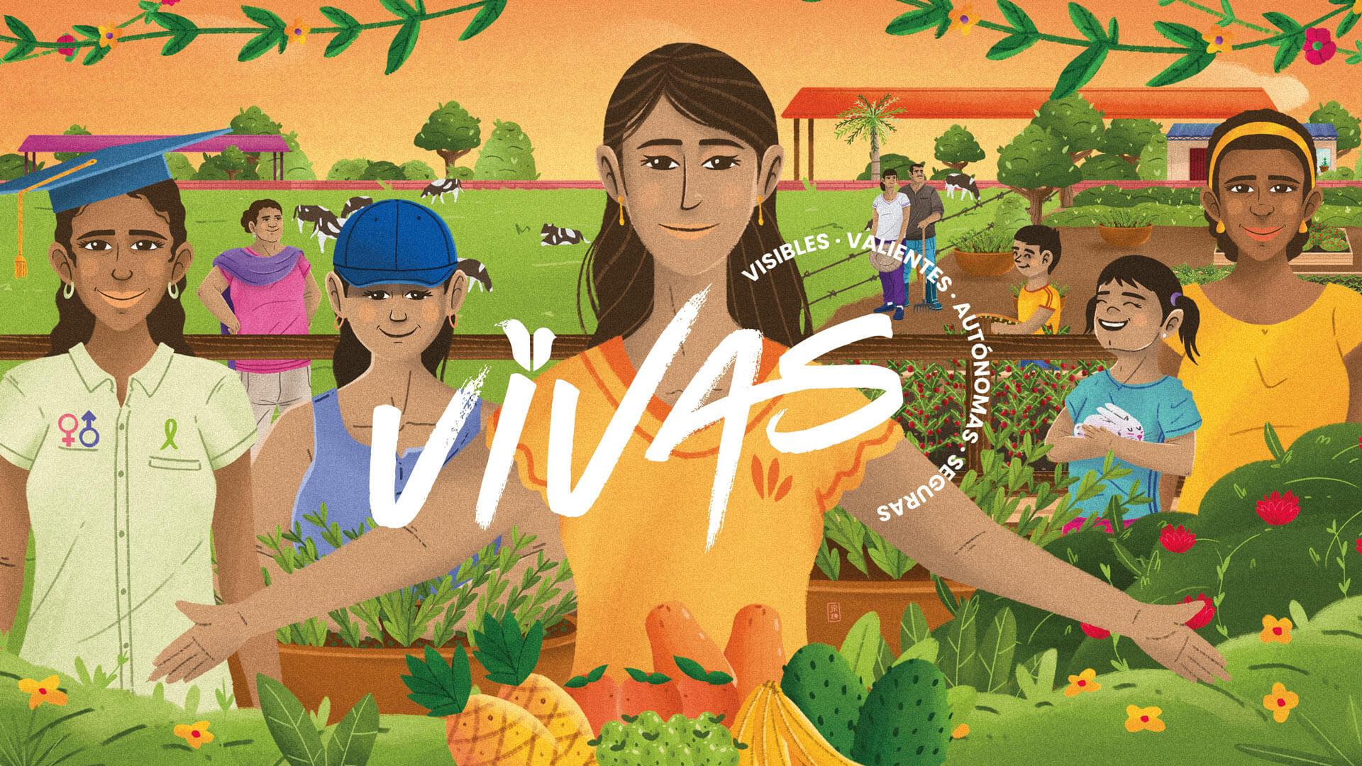 PACIFISTA!, la Embajada de Suecia y la OIM presentan VIVAS: mujeres visibles, valientes, autónomas y seguras