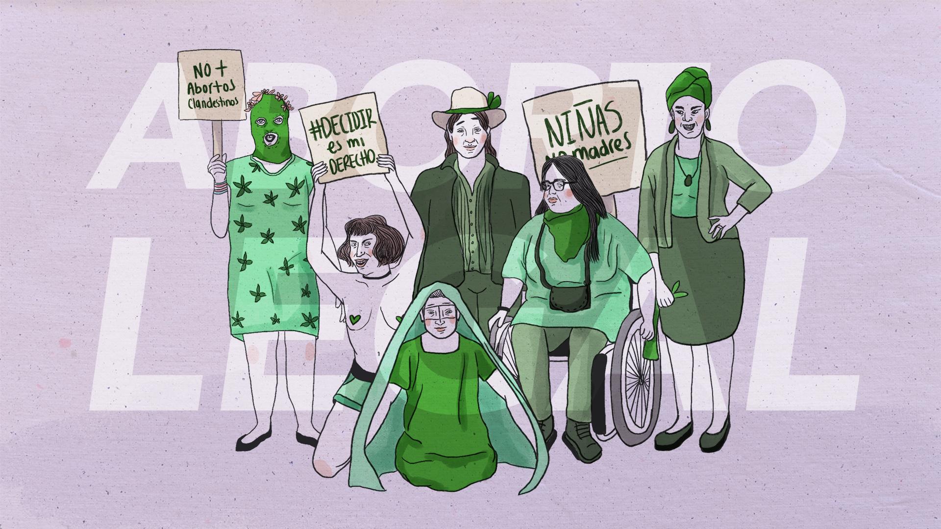 10 miradas distintas para promover el aborto legal en Colombia