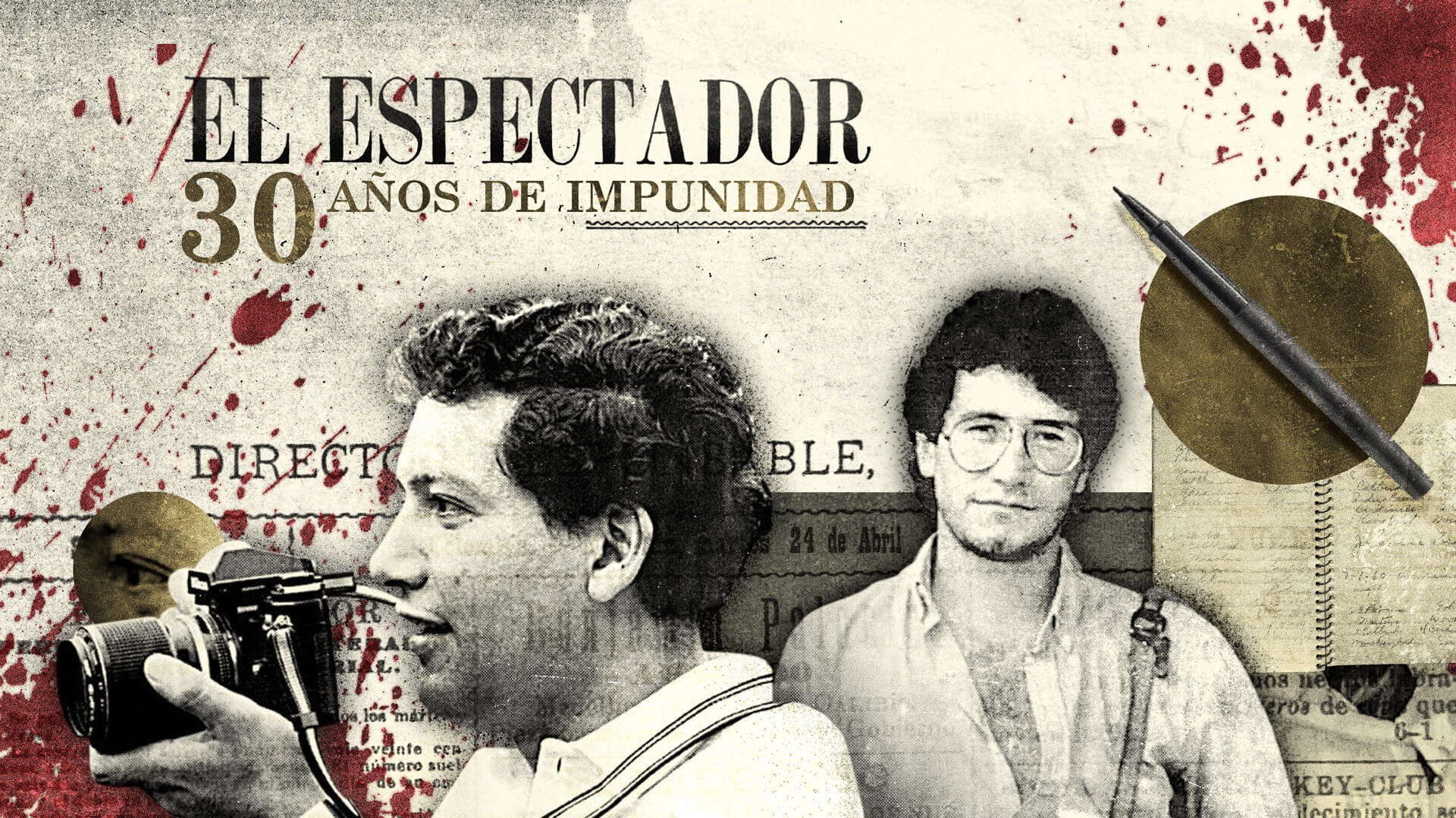Un fotógrafo y un poeta fueron asesinados hace 30 años, pero nadie ha sido condenado