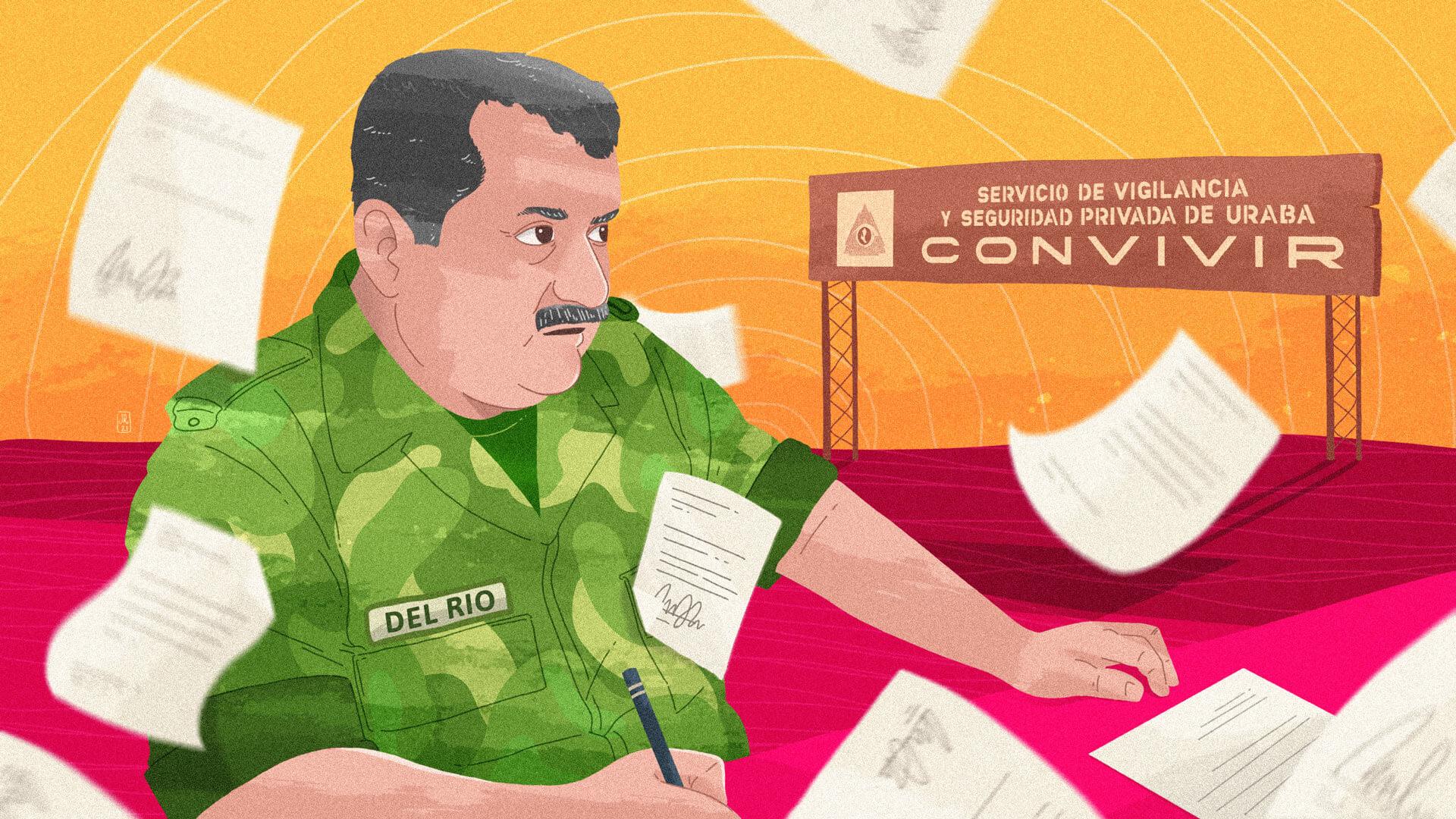 Los documentos que demuestran la mala memoria de Rito Alejo del Río sobre su impulso a las Convivir