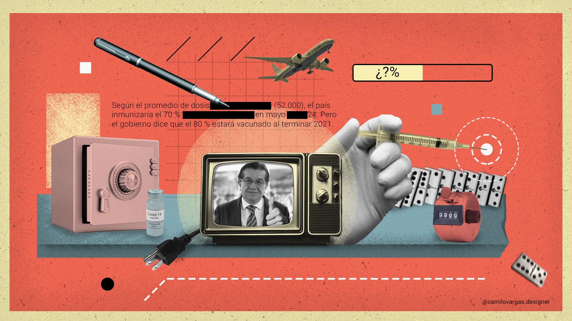 Dosis mínima de transparencia en el Plan Nacional de Vacunación