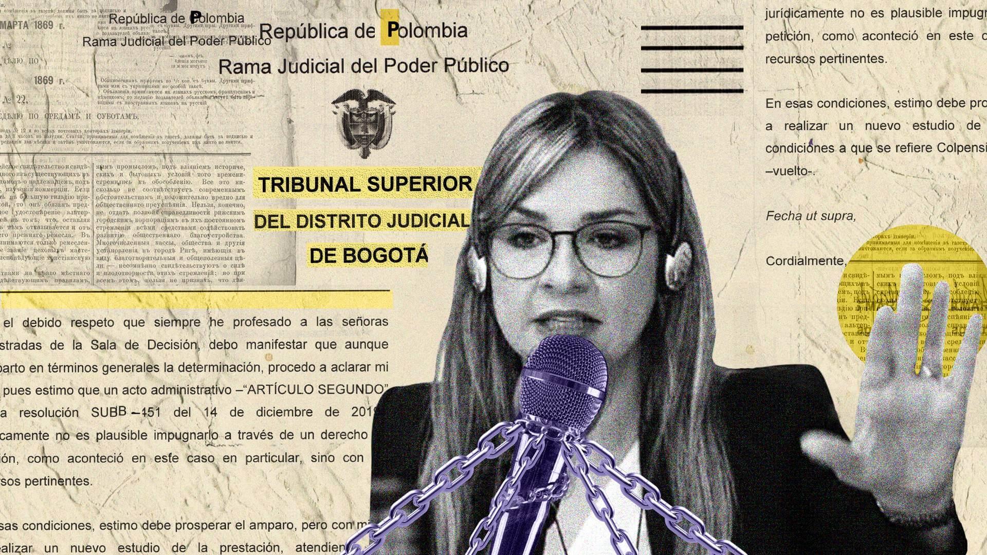 Vicky Dávila y el imperio de los jueces