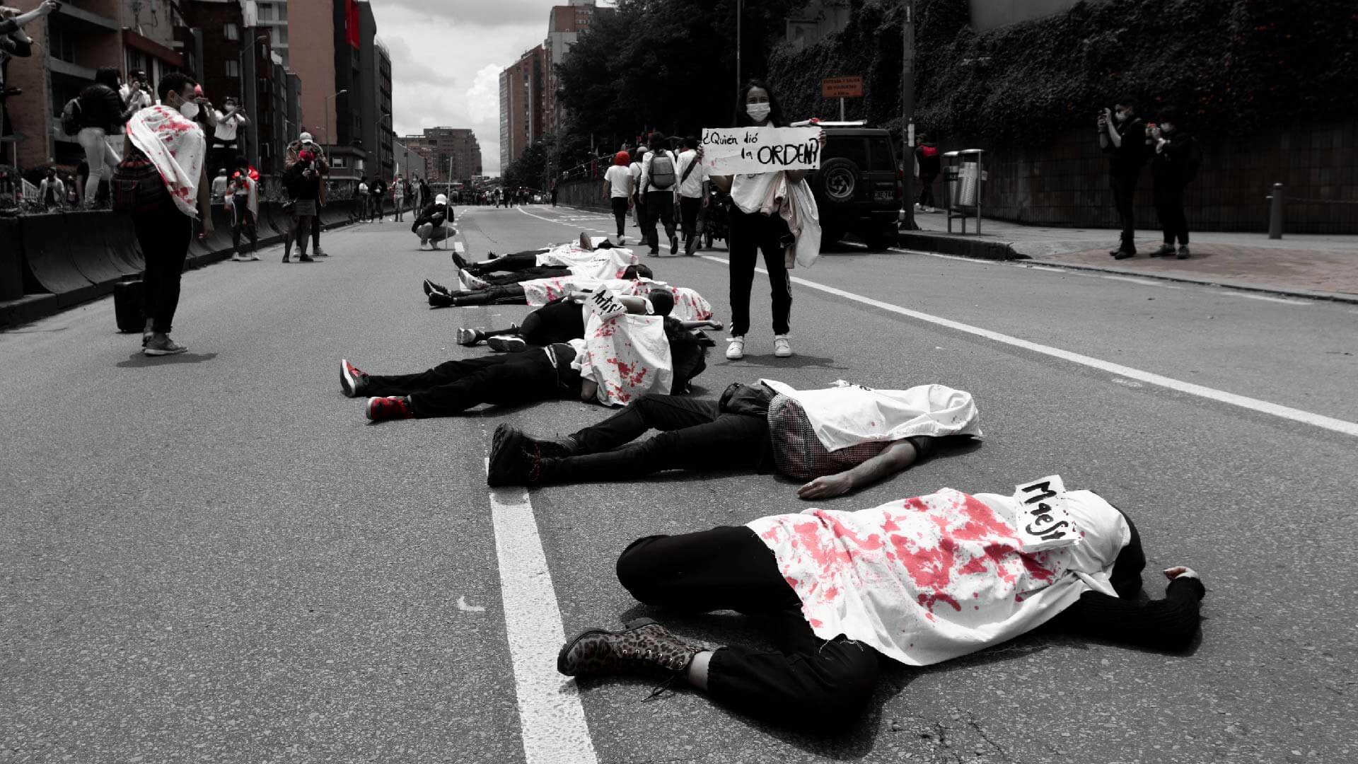 Ya van 2.110 casos de violencia policial durante el Paro en Colombia