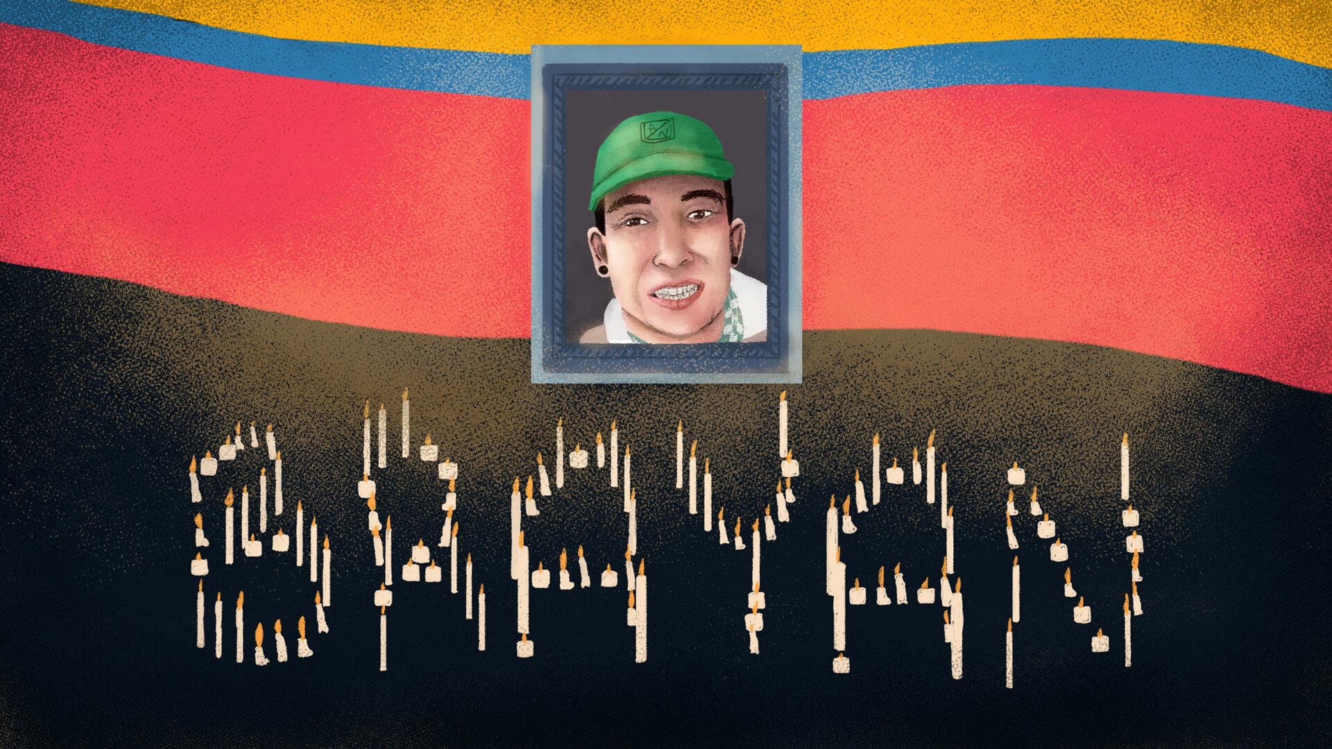 En Madrid, Cundinamarca, sigue brillando la luz de Brayan Niño, joven que habría sido asesinado por el Esmad