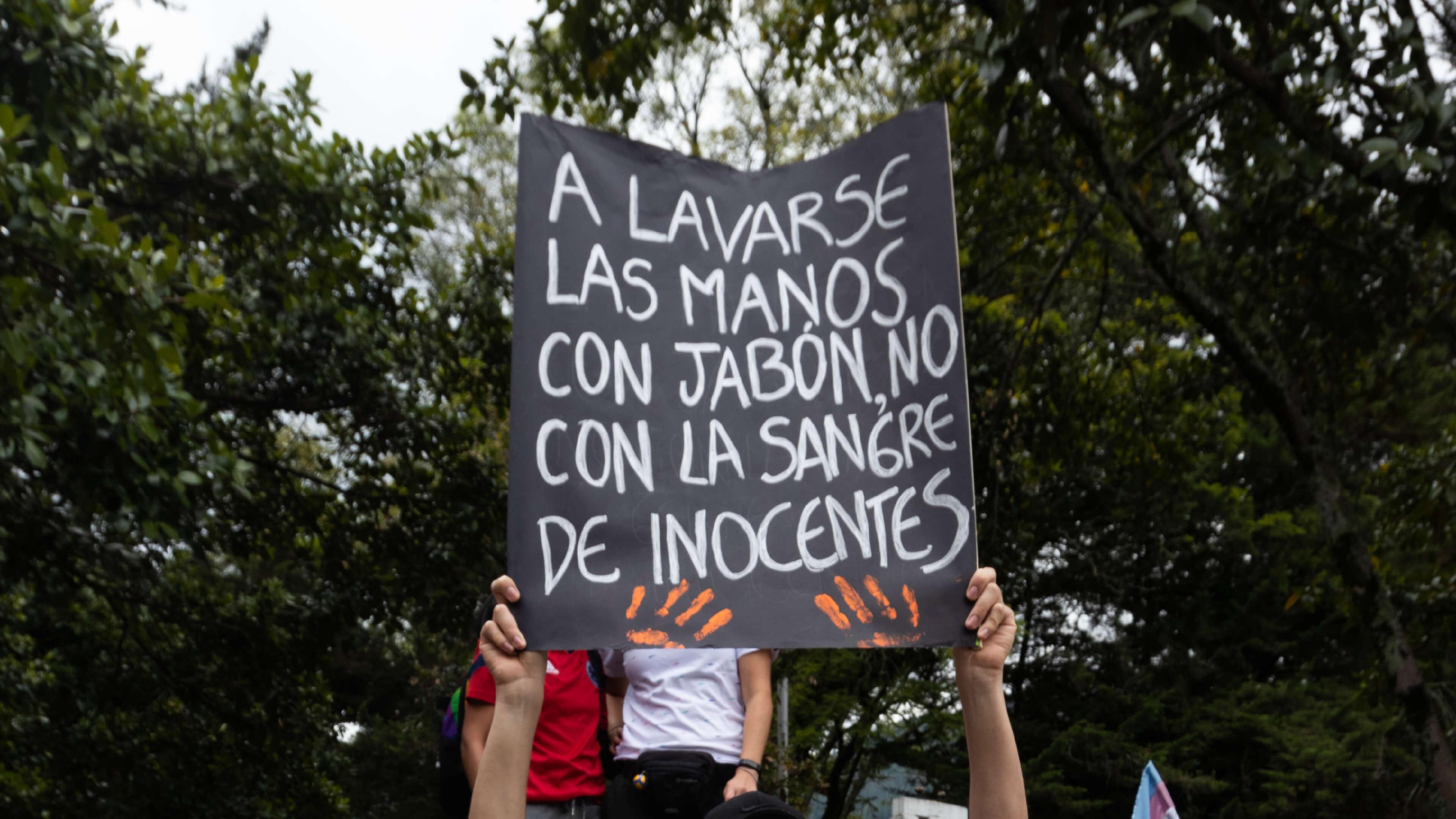 Miembros de la Fuerza Pública son responsables de 3.455 agresiones a manifestantes en Colombia