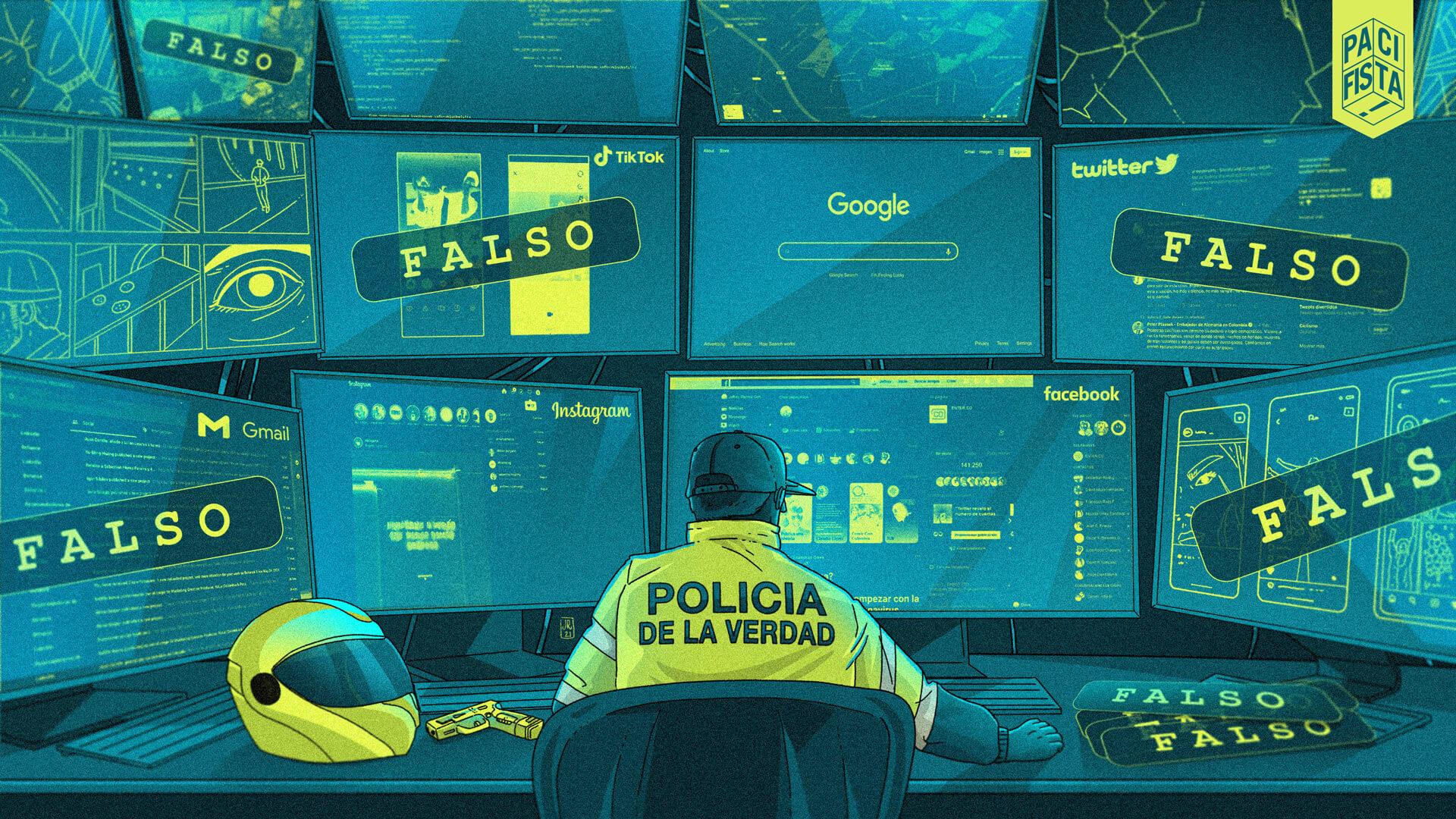 El Ciberpatrullaje o la Policía de la Verdad