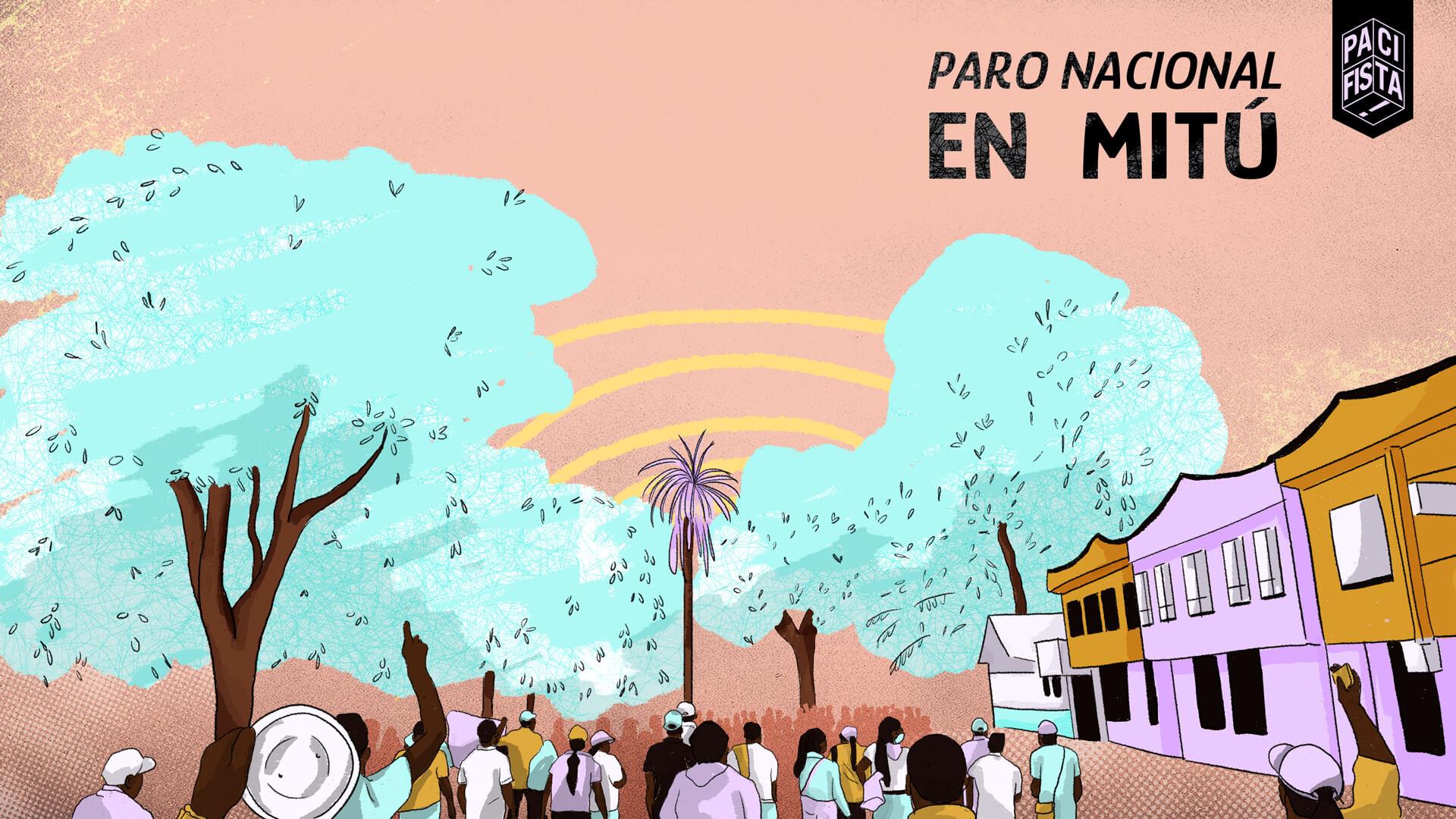 Vaupés despierto y en resistencia: así es la protesta en Mitú