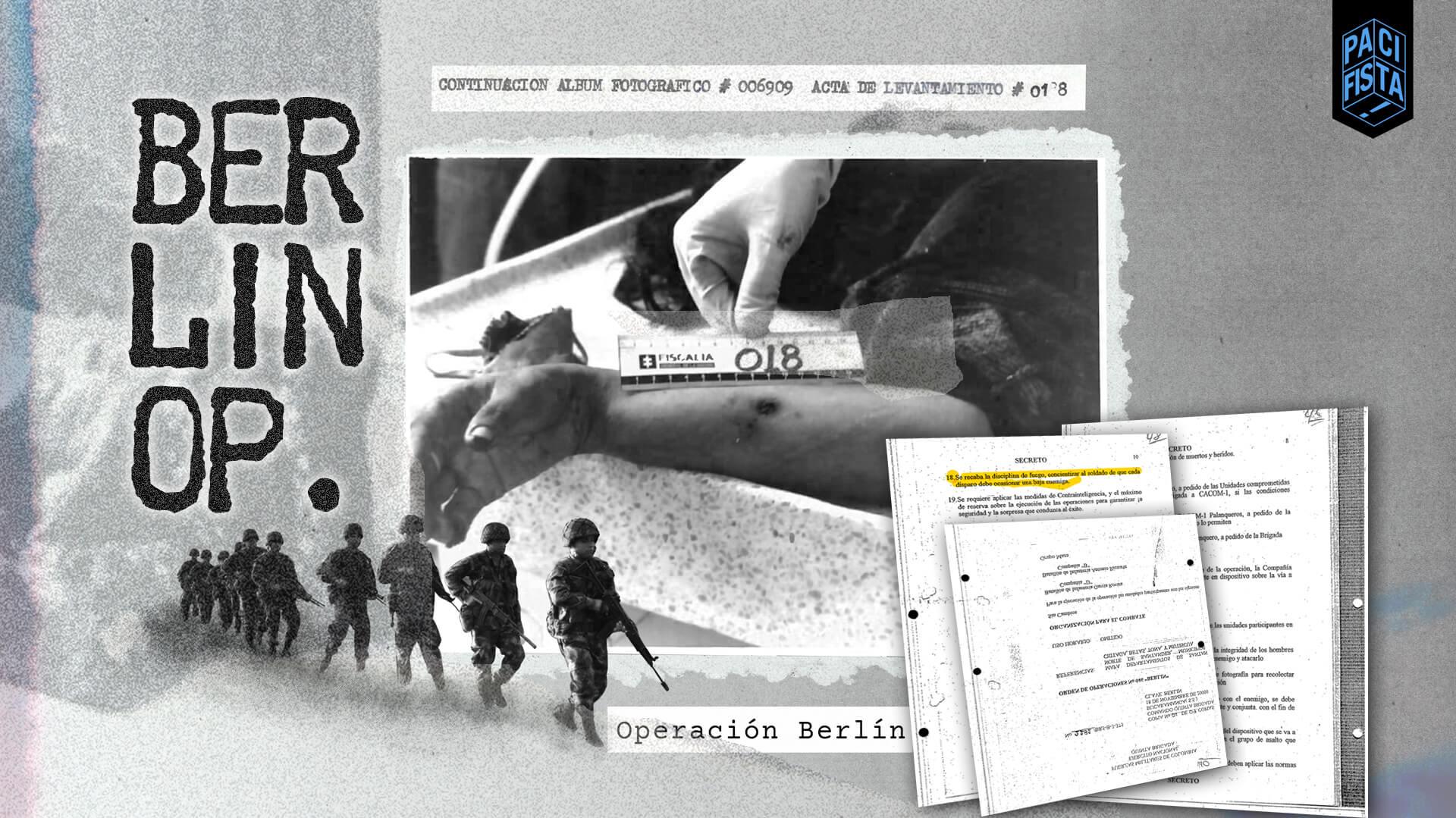 'Berlín', la operación militar donde el Ejército habría fusilado niños