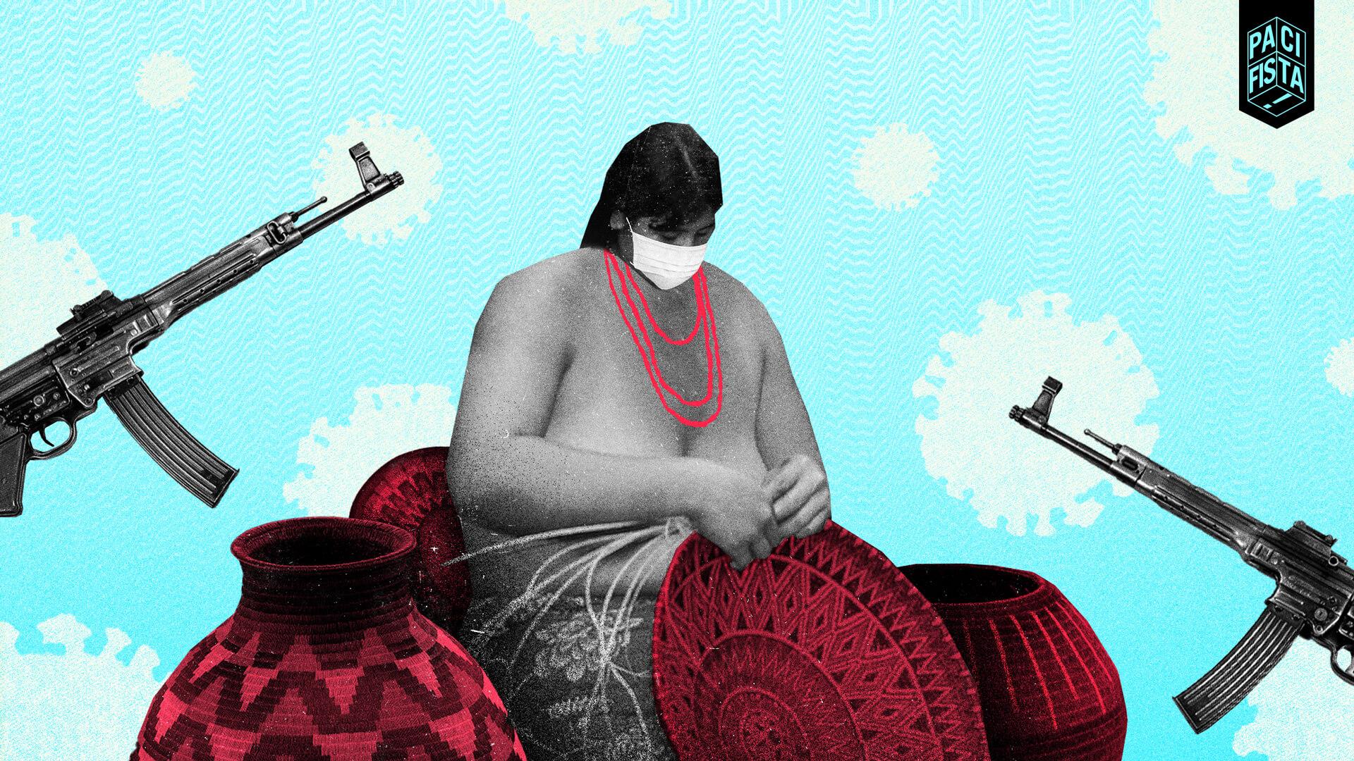 ¡A comprarles a los indígenas de Puerto Guadualito! La pandemia y los grupos armados los tienen acorralados